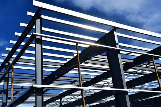 Structural steelwork construction